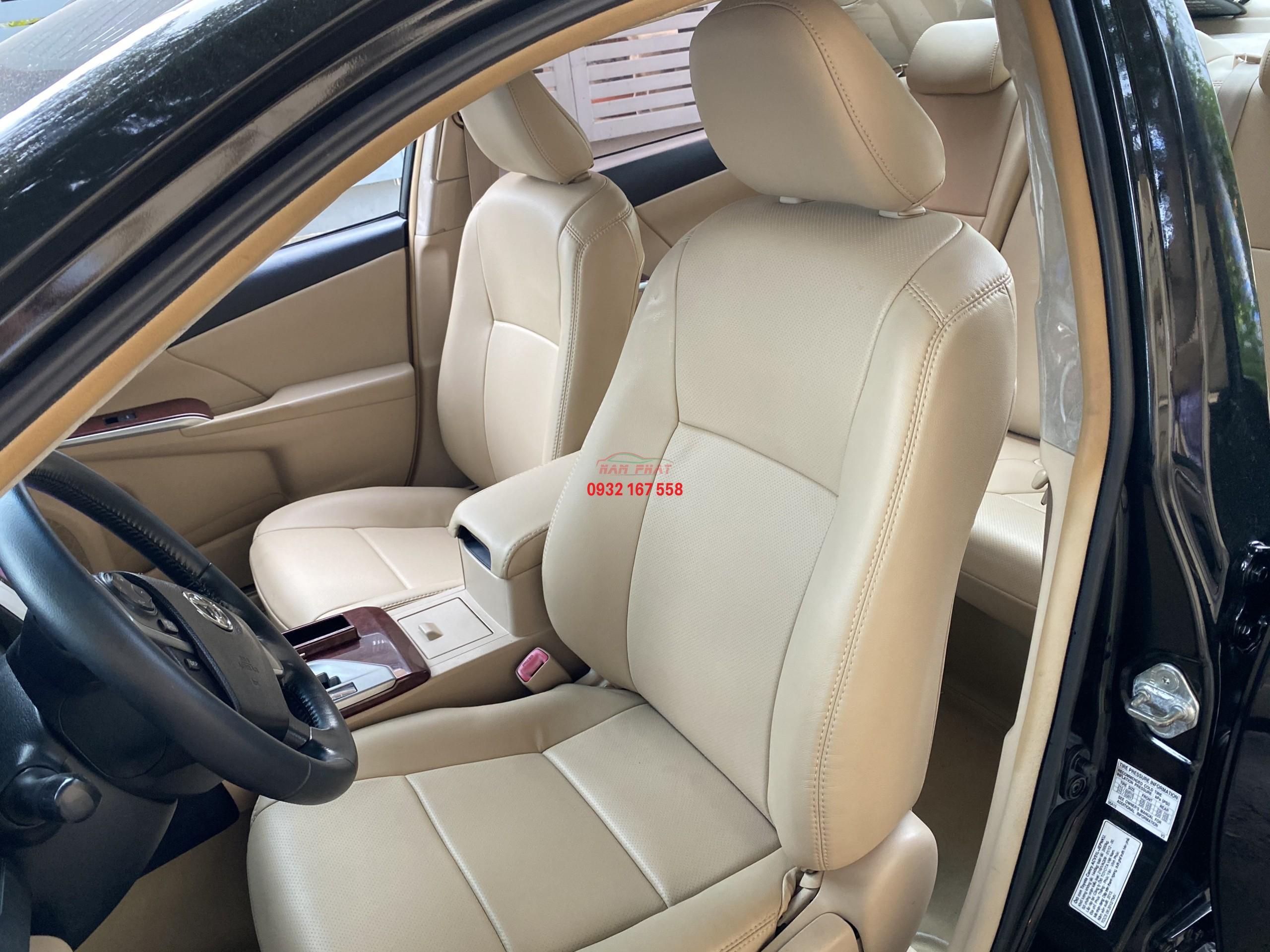 Bọc ghế da Toyota Camry
