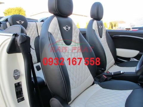 bọc ghế da BMW mini Cabriolet