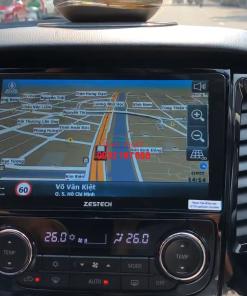 Lắp màn hình Android cho Mitsubishi Pajero Sport