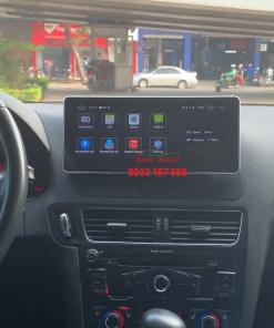 Lắp màn hình Android cho Audi Q5