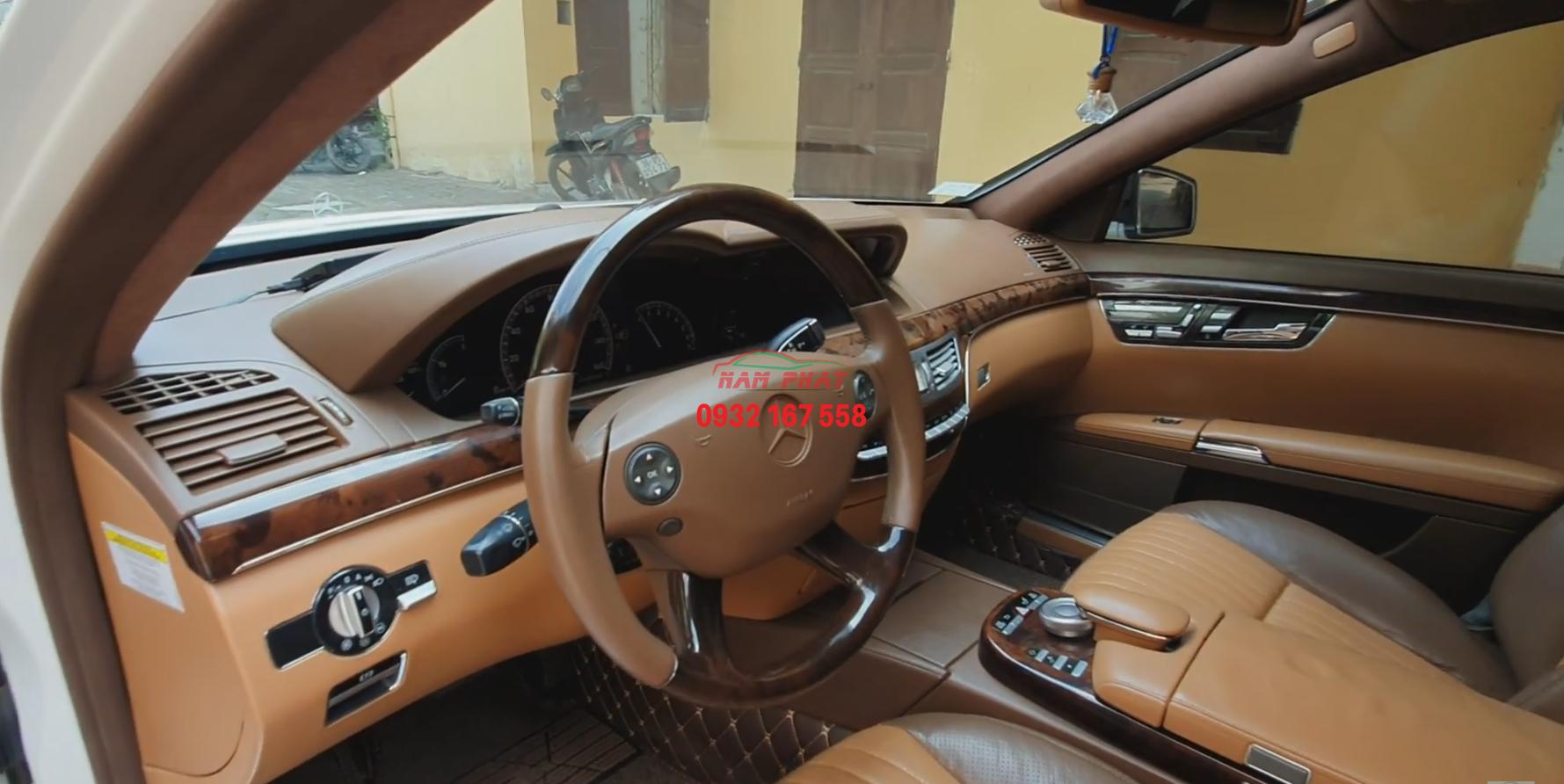 độ nội thất mercedes S65 AMG