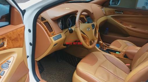 độ nội thất xe Hyundai sonata