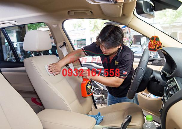 vệ sinh xe