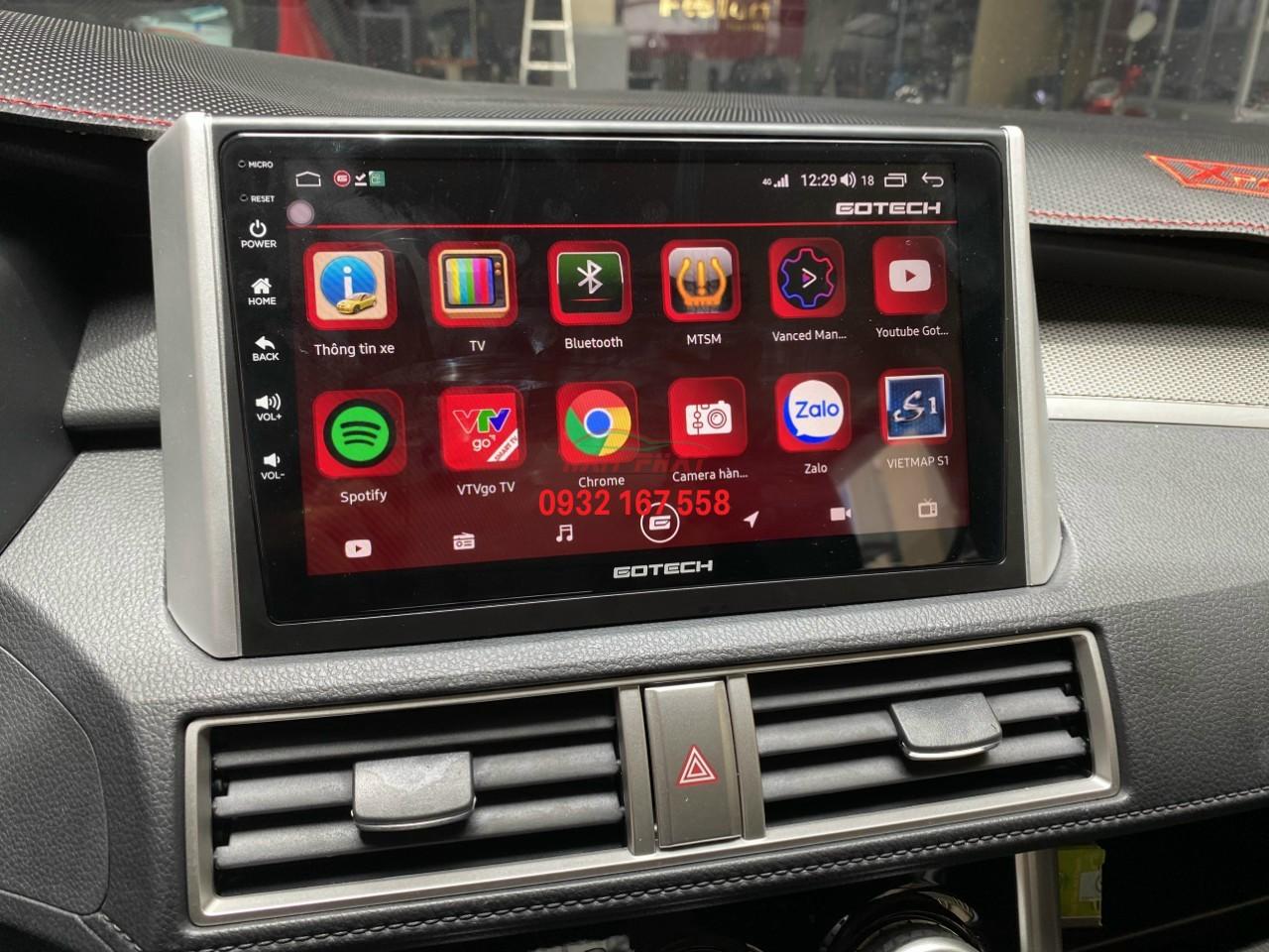Màn hình Android Gotech tại Quận 1