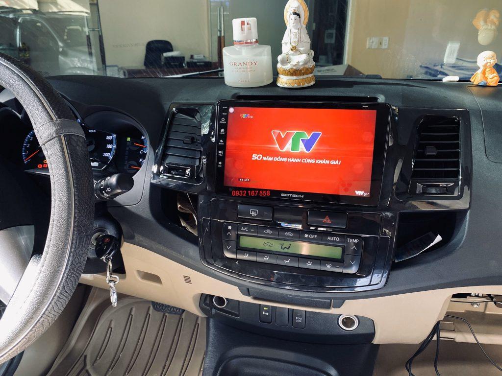 Màn hình Android Gotech Toyota Fortuner