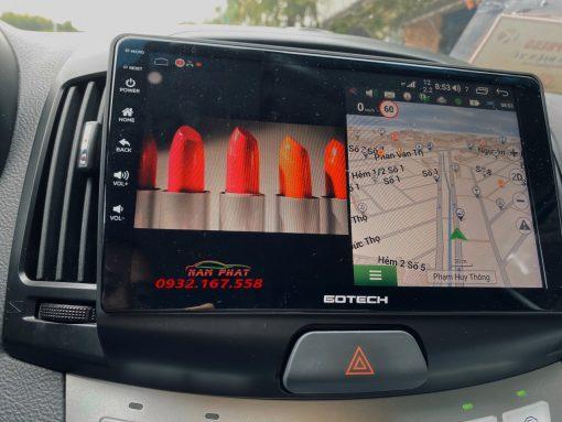 Màn hình Gotech cho Hyundai Avante