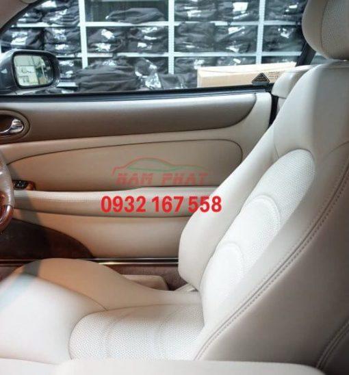Bọc ghế da xe Jaguar XKR