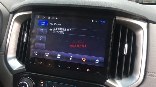 Lắp màn hình Android cho Chevrolet Colorado