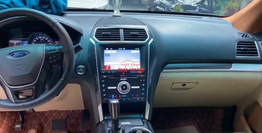 độ nội thất xe ford explorer