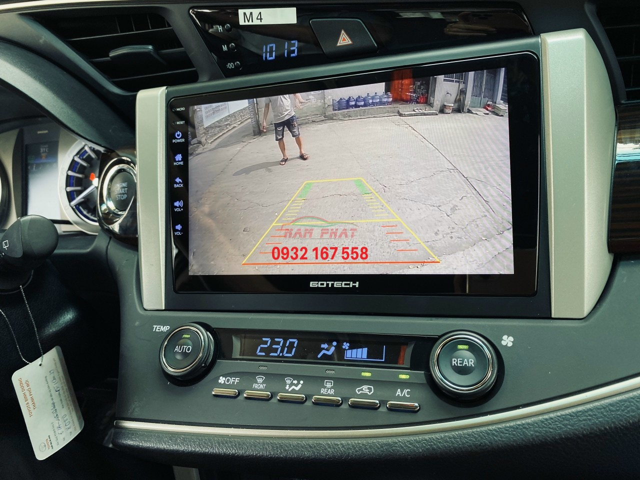 Màn hình Android Gotech Toyota Innova