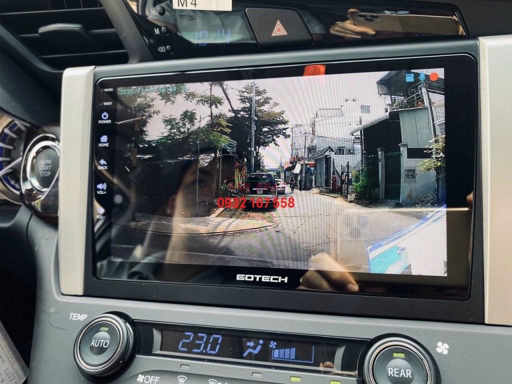 màn hình android ô tô