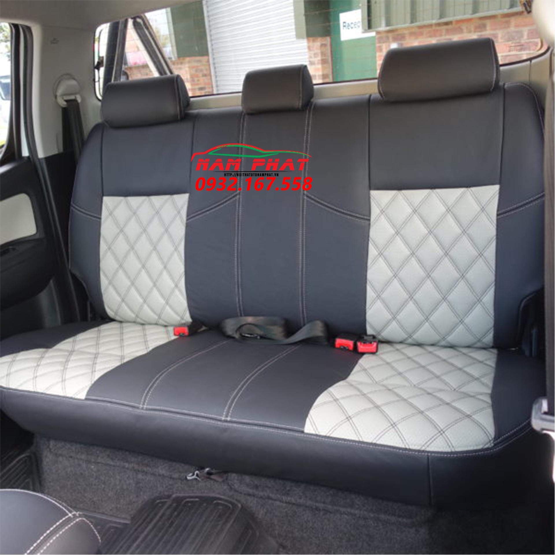 bọc ghế da xe cho Toyota Hilux