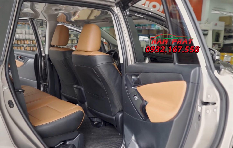 Bọc ghế da xe Toyota Innova