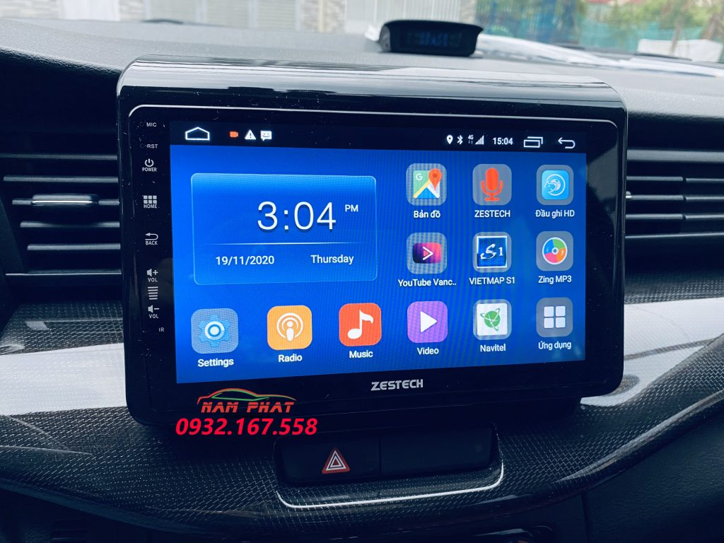 Màn hình Android Zestech cho Suzuki XL7