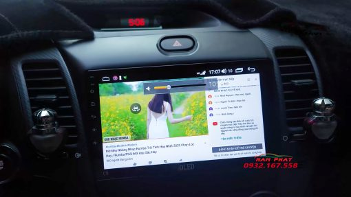 Màn hình Android Oled cho Kia Cerato