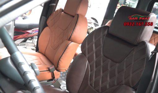 bọc ghế da xe Isuzu Hi Lander