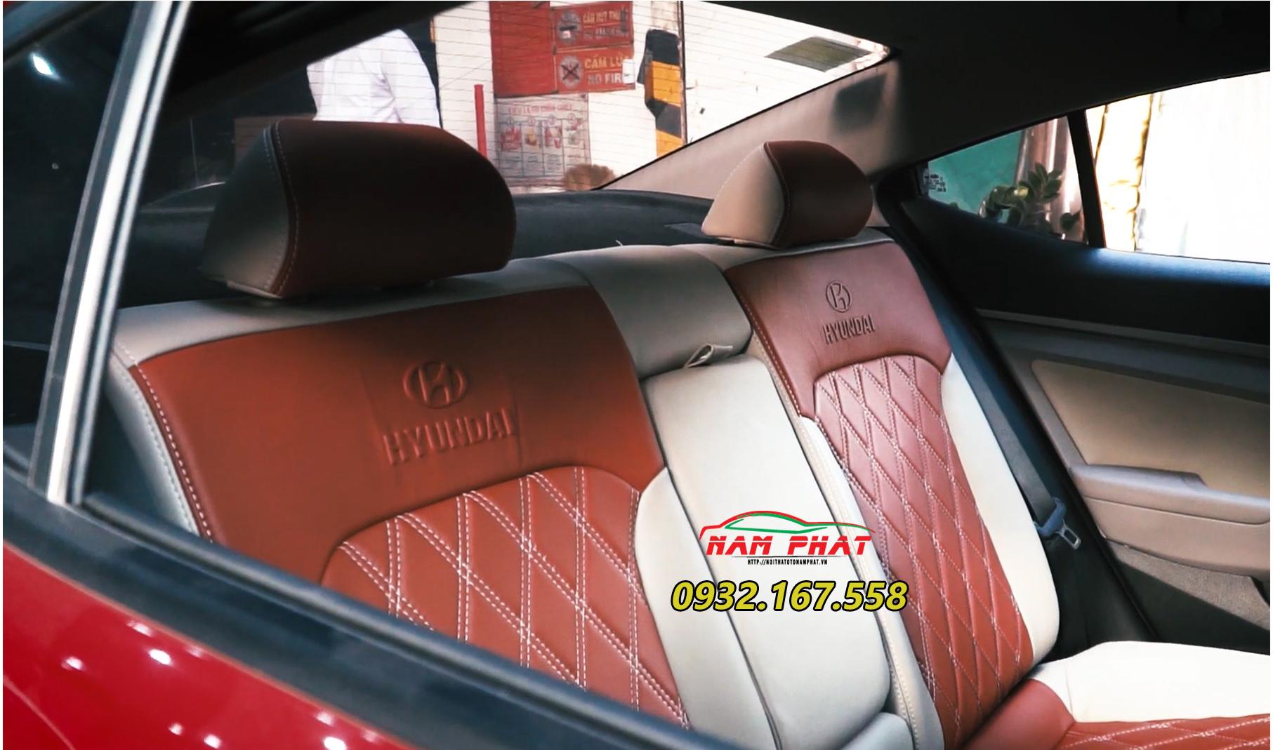 Bọc ghế da xe Hyundai Elantra