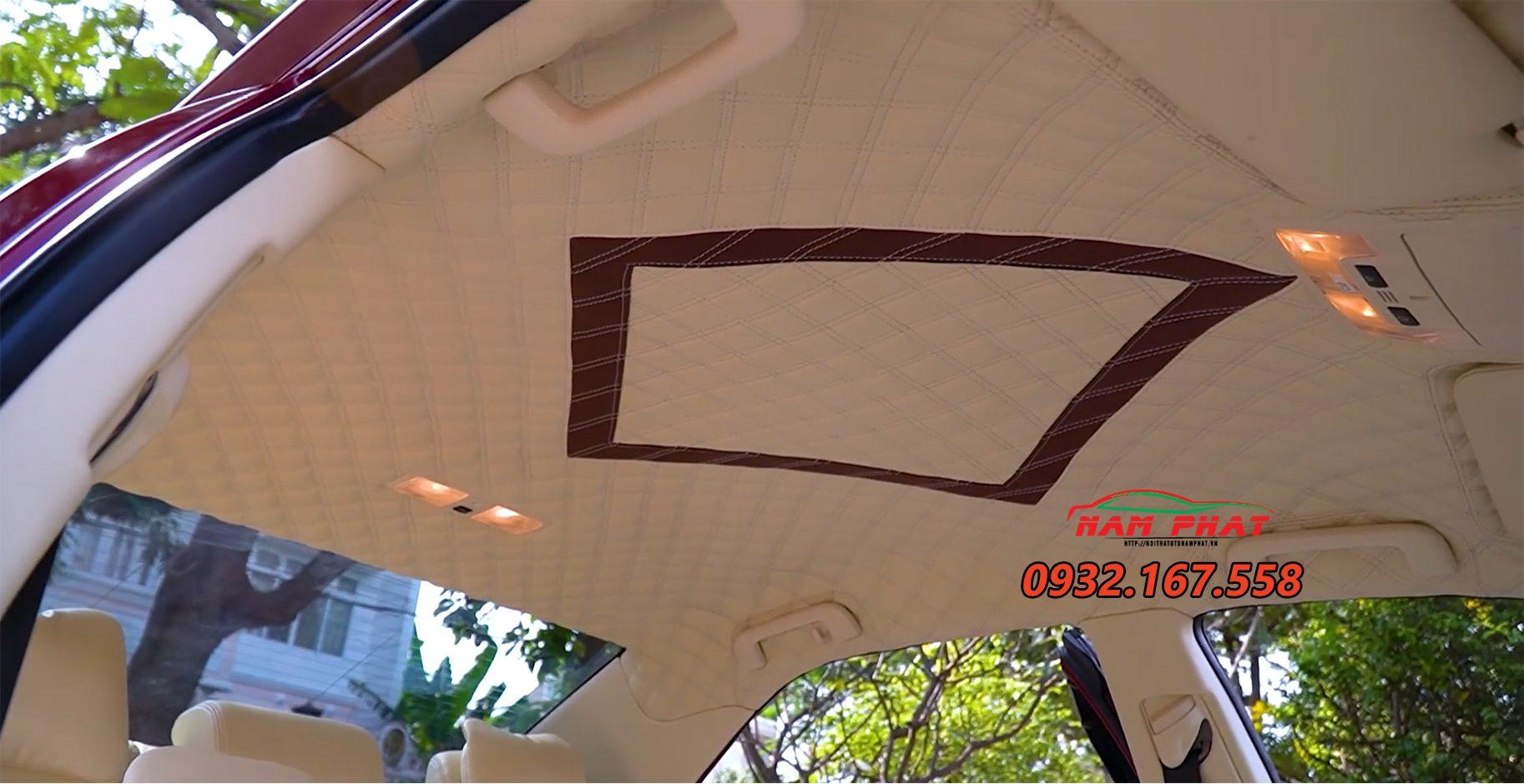 Độ nội thất xe Toyota Camry