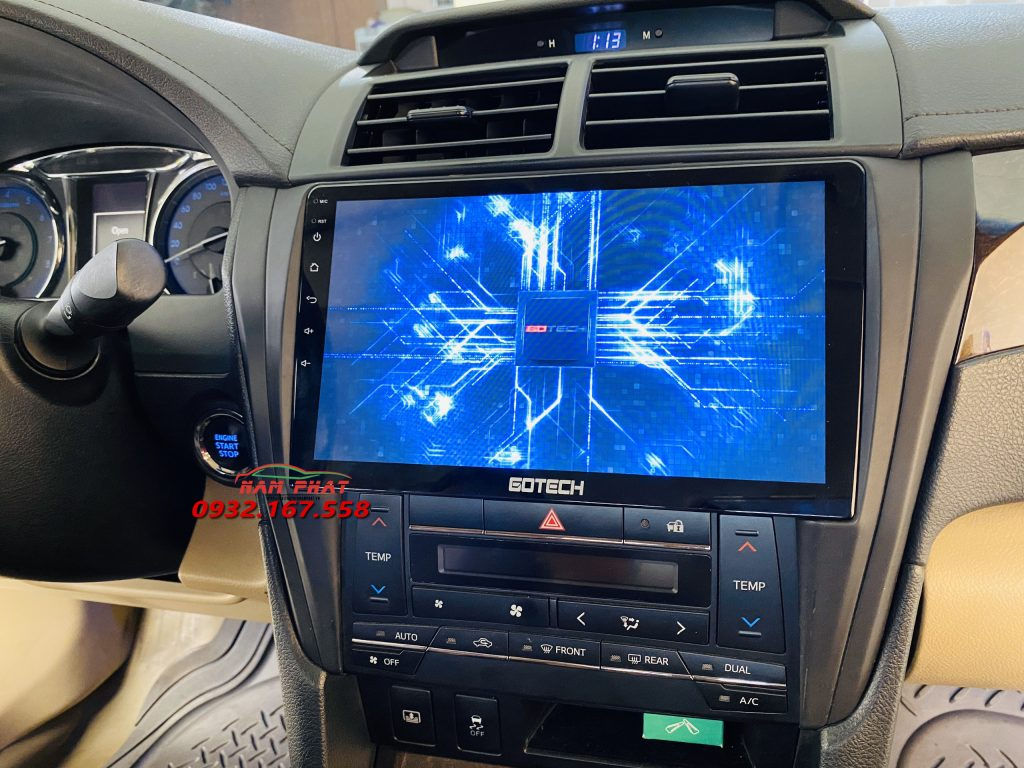 DVD Android Gotech lắp cho Toyota Camry