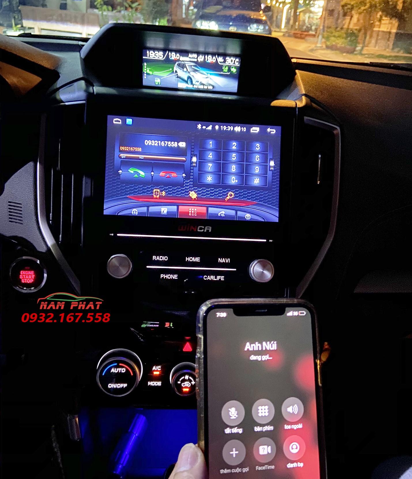 Màn Android ô tô Winca cho Subaru Forester