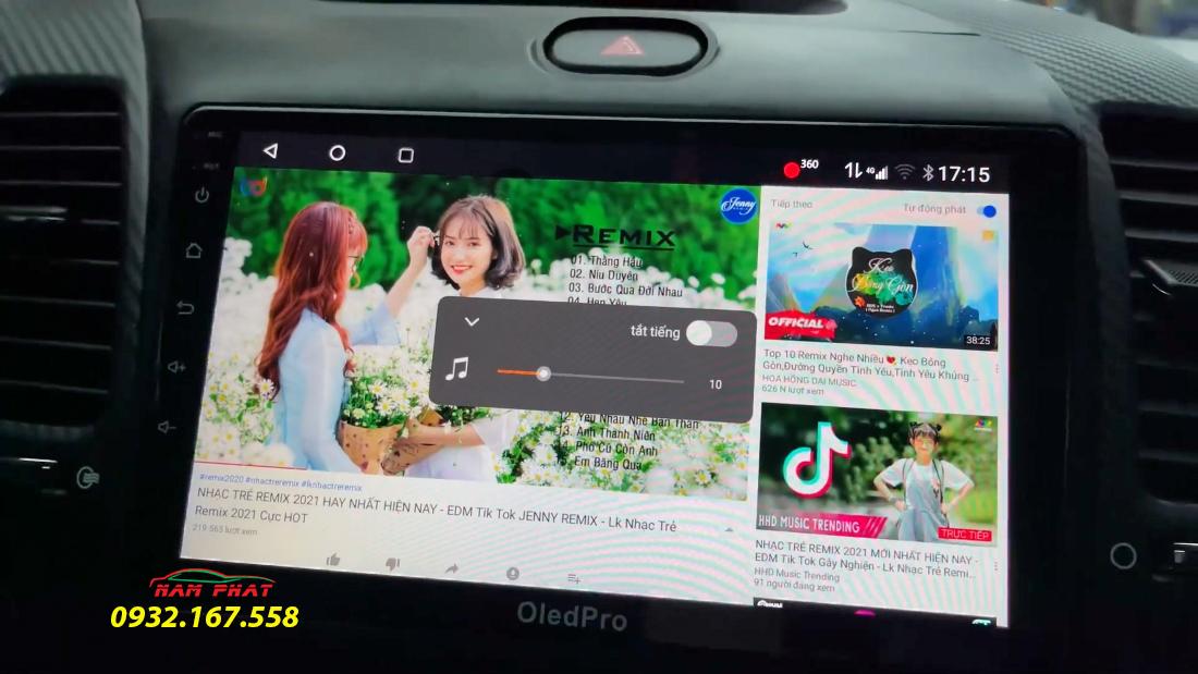 Màn hình Android Oled cho xe Kia K3