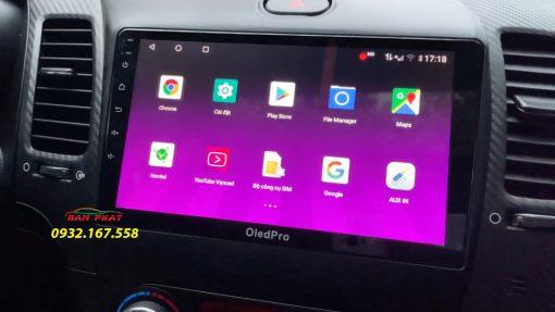 Màn hình Android Oled cho Kia K3