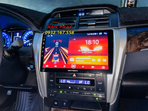 Lắp màn hình liền 360 độ cho ô tô
