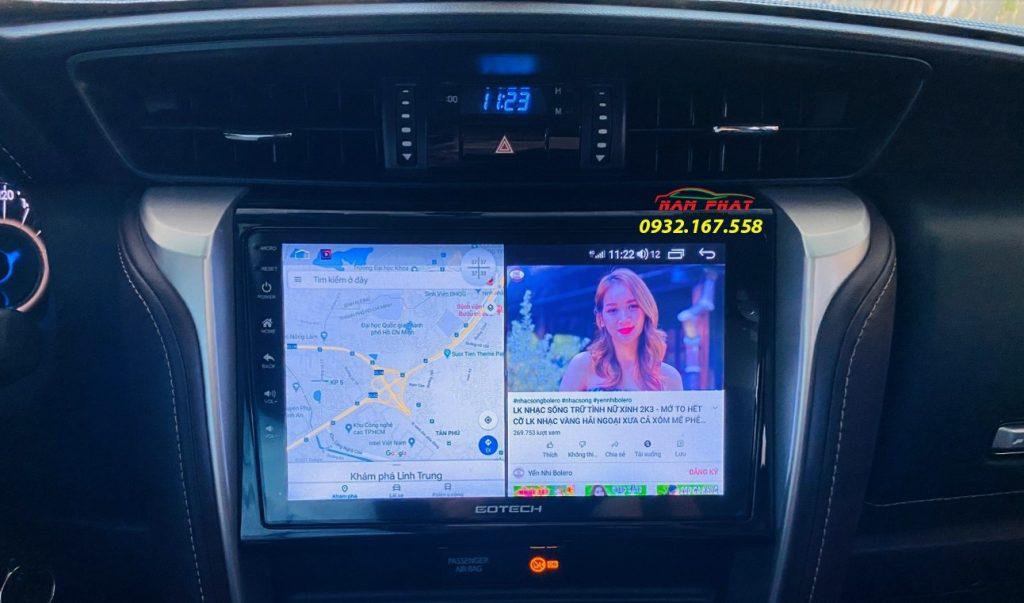 Lắp màn hình Android Gotech tại Tân Phú
