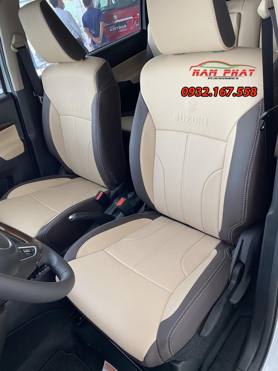Bọc nệm ghế da Suzuki Ertiga