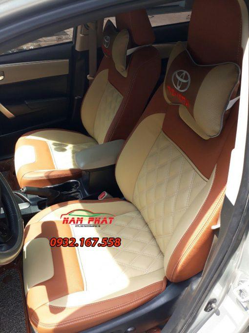 Bọc ghế da xe cho Toyota