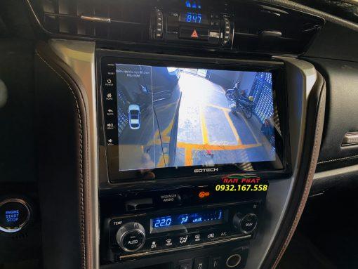 Màn hình Android Gotech cho Toyota Fortuner