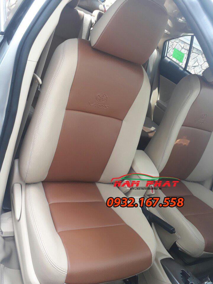 Bọc ghế da cho Toyota Vios
