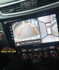 Màn hình Android Gotech cho Nissan X-Trail