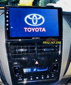 Màn hình Gotech lắp cho xe Toyota Vios