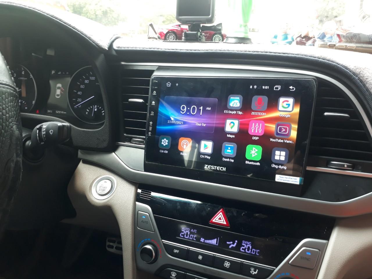 DVD Android Z500 - Hyundai Elantra
