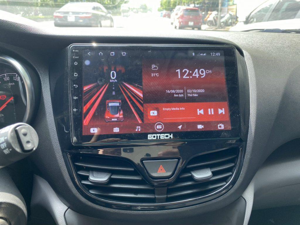 màn hình Gotech GT8 - Vinfast Fadil