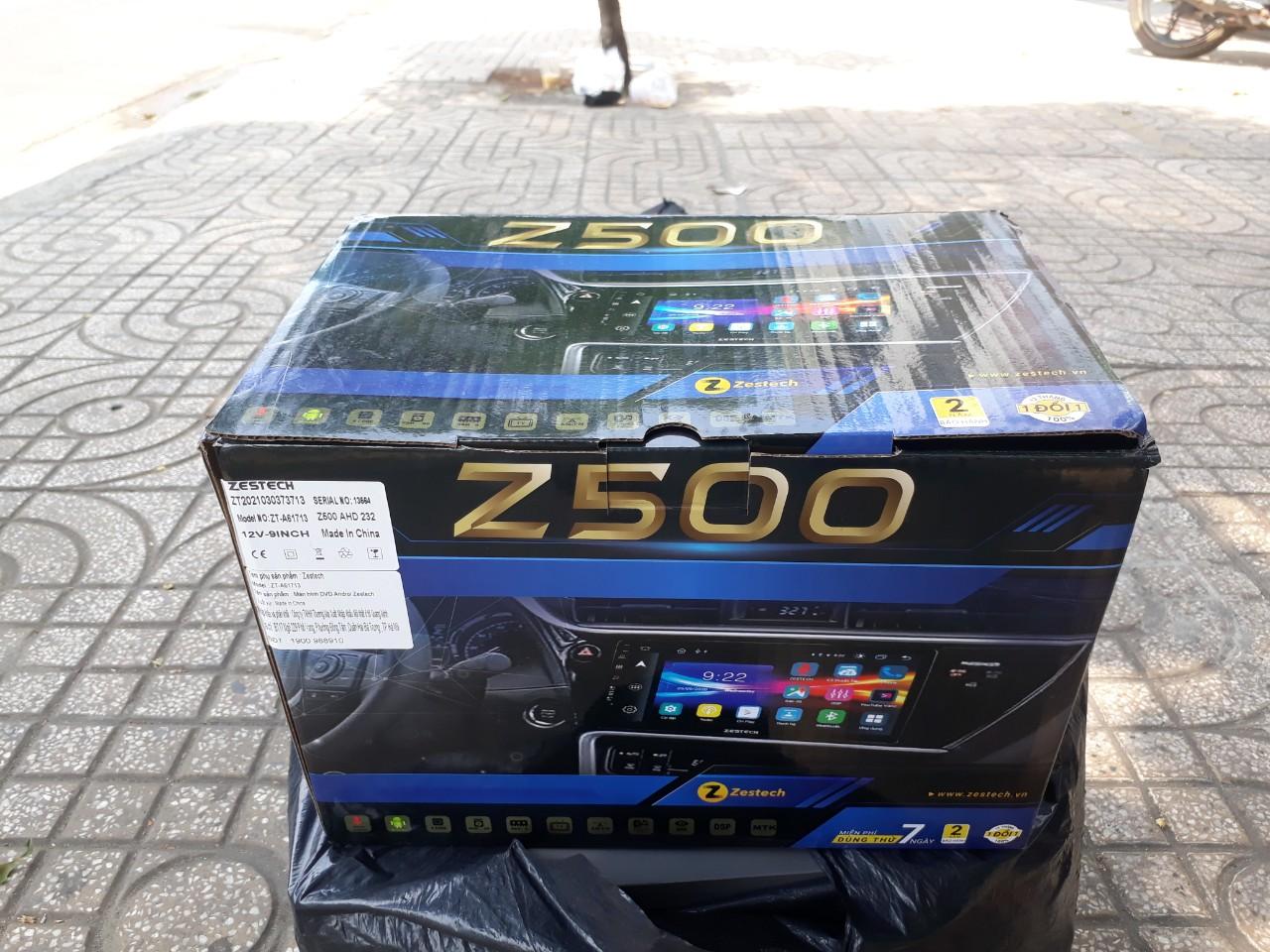 Màn hình DVD Android Zestech Z500