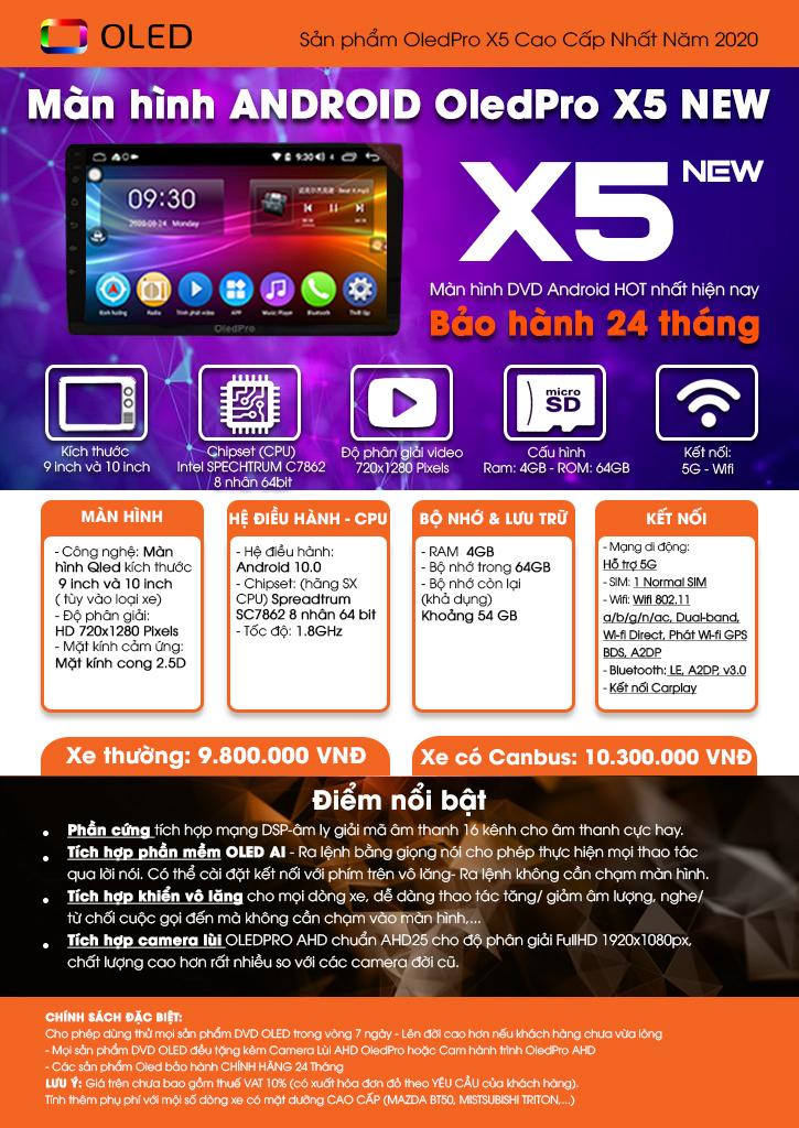 OLED PRO X5 NEW