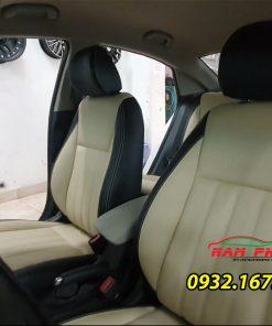 Thay ghế da Hyundai Accent: