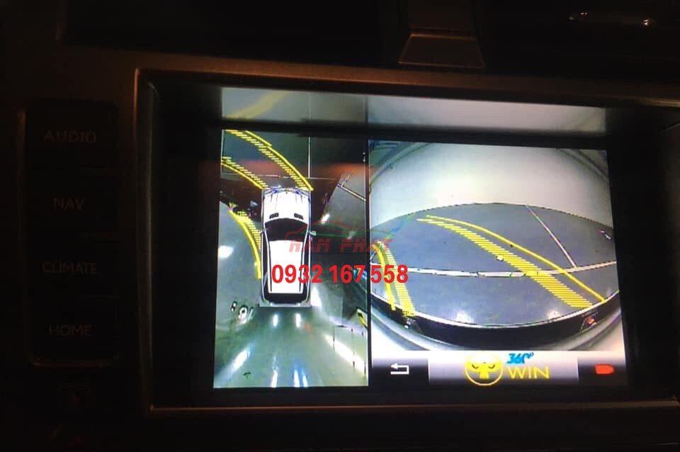 Tích hợp camera của màn hình DVD Android Zestech