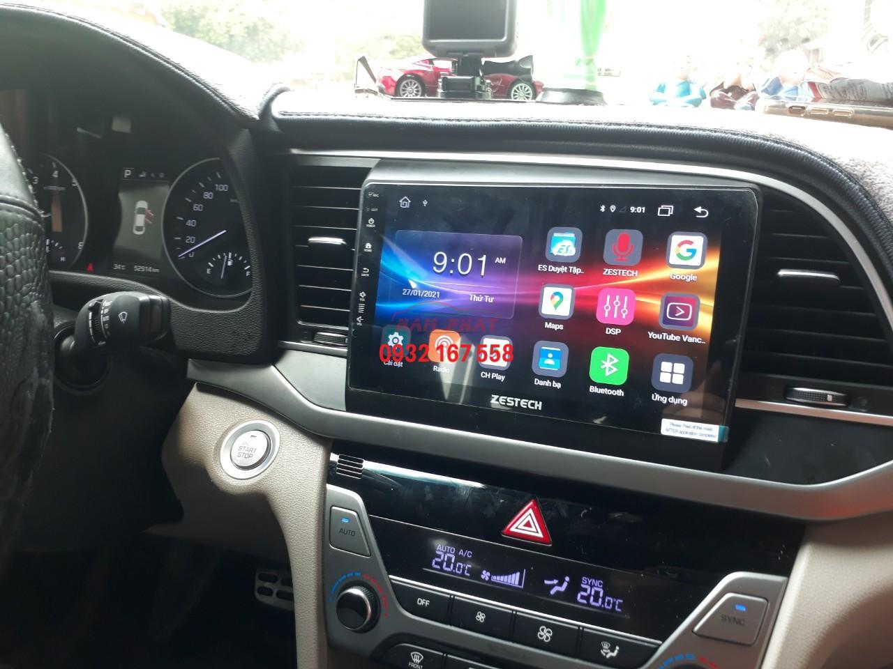 Màn hình DVD Android - Hyundai Elantra
