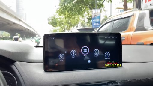 OledPro X8s Plus lắp trên Mazda CX5