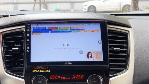 Màn hình OledPro X8s cho Mitsubishi Triton