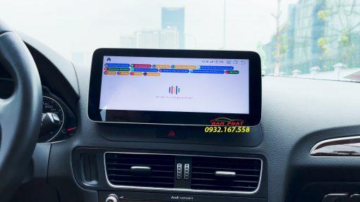 Màn hình Android OledPro trên Audi Q5