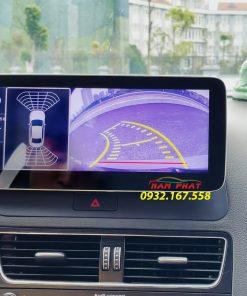 Audi Q5 trang bị với Màn hình Android OledPro