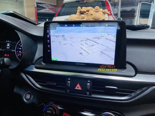 Màn hình Android Gotech trên Kia Cerato
