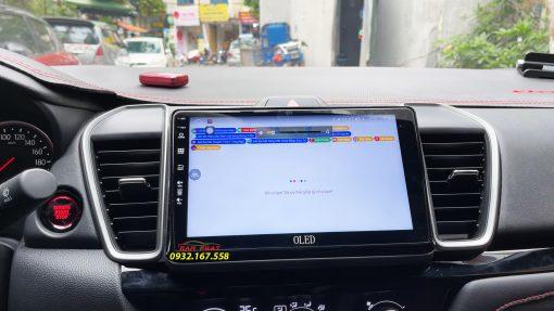 Màn hình Android Oled C8s cho Honda City