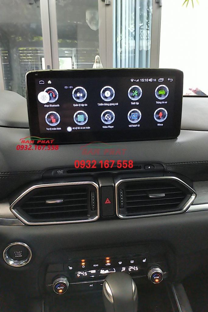Giao diện màn hình Winca S200 - Hệ điều hành android 10.0