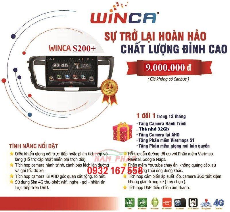 Tính năng Winca S200