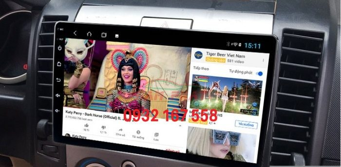 xem-youtube-tren-man-hinh-android-cho-xe-Everest